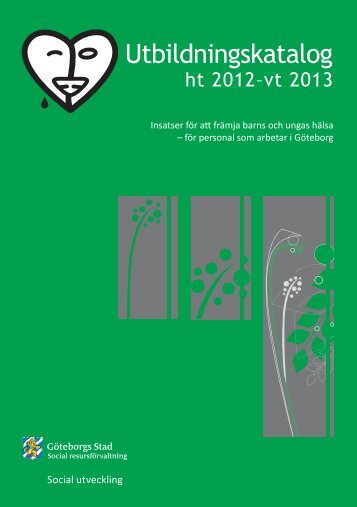 Utbildningar 2012-2013 - Göteborg