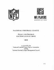 NFL PLAYERS ASSOCIATION - MLive.com
