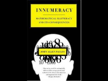 Innumeracy Book Review.pdf - Cedar Valley College