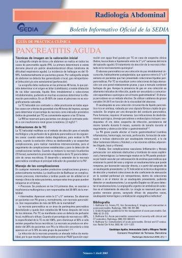 Número 1, Abril 2005 - SEDIA