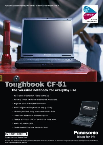 Toughbook CF-51 - STAND CZ spol.s ro