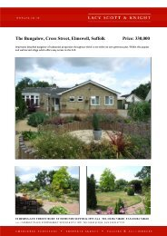 The Bungalow, Cross Street, Elmswell, Suffolk Price: 330,000 - Vebra