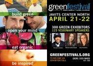 APRIL 21-22 - Green Festival