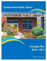 Chestermere Public Library Strategic Plan 2012 - 2015.pdf