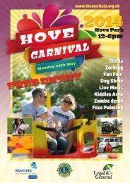 Hove_Carnival_Flyer_2014