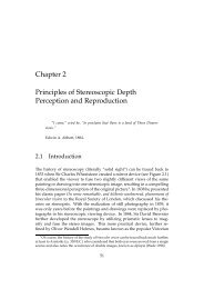 Chapter 2 Principles of Stereoscopic Depth Perception and ...