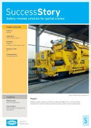 SuccessStory Safety-related solution for portal cranes - Eic2 Sa