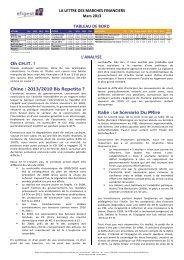 2013/2010 Bis Repetita ? Italie : Le Scenario Du PRire