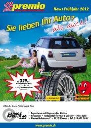 Premio Frühjahrsnews 2012 (PDF, 2 MB) - Pneu-In AG