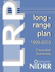 LRP Executive Summary Executive Summary - National Center for ...