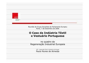 O Caso da Indústria Têxtil e Vestuário Portuguesa - ATP