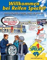 Auch In Diesem Winter Können Reifen Wieder Knapp - Reifen Specht