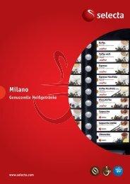 Milano Prospekt - Selecta Deutschland GmbH