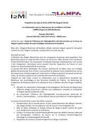 Proposition de sujet de thèse CIFRE PSA Peugeot Citroën ... - ANRT