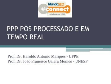 MundoGEO#Connect LatinAmerica 2013