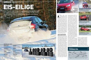 Winterreifen-Test der Auto-Zeitung als PDF
