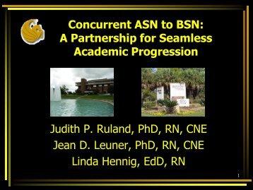 Concurrent ASN to BSN - IUPUI