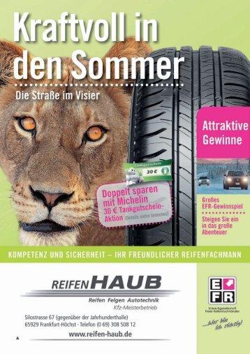 Greßes EFR-Gewinnspiel - Reifen Haub