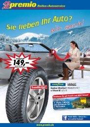Inklusive Montage, Wuchten, Felge und Ventil. - Premio Reifen und ...