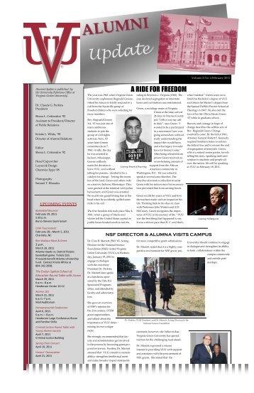 Feb. newsletter - Virginia Union University