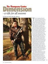 Dimension Australian Shooter November 2012 - Frontier Arms