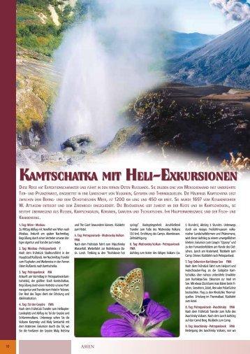 KamtschatKa mit heli-exKursionen