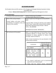 Page 1 of 7 KEY FEATURES DOCUMENT (For Resident ... - Hsbc