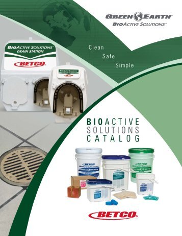 BioActive Solutions Brochure - Betco Corporation