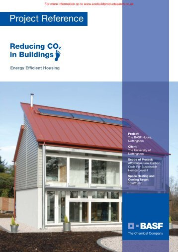 The BASF House, Nottingham Project Reference - Ecobuild Product ...