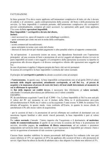 fatturazione - Istitutopologrosseto.it