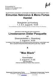 Max Black - Københavns Internationale Teater