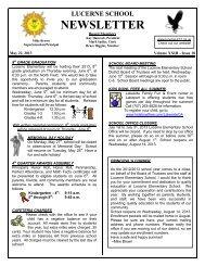 star newsletter - Stanton Elementary - Castro Valley Unified