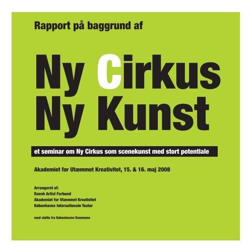 Rapport på baggrund af - Københavns Internationale Teater