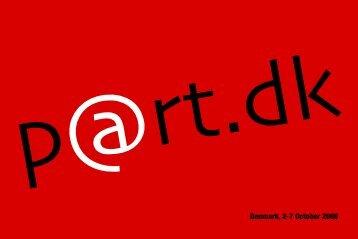 Denmark, 2-7 October 2006 - Københavns Internationale Teater