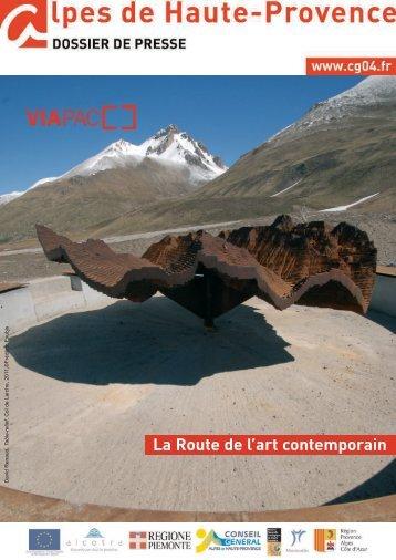 DP VIAPAC - Route de l'art contemporain - Conseil Général des ...