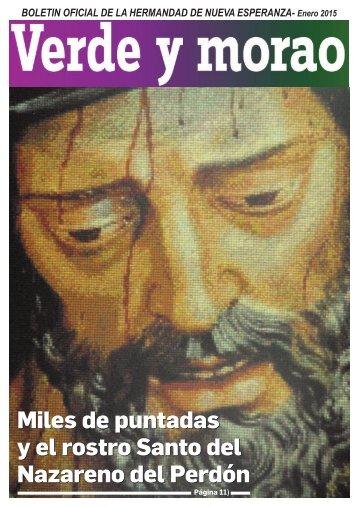 Miles de puntadas y el rostro Santo del Nazareno del Perdón