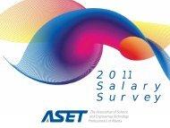 ASET Salary Survey Report 2011