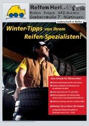 Winter-Tipps von Ihrem Reifen-Spezialisten! - Reifen Herl