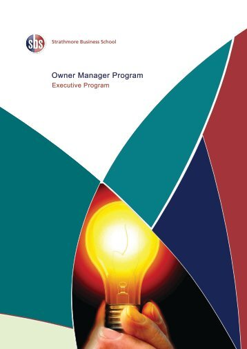Owner Manager Program - Strathmore Business School