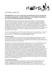 Pressemeddelelse, 24 - Københavns Internationale Teater
