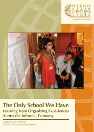 The Only School We Have: Learning from ... - Inclusive Cities