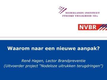 Presentatie Rene Hagen.pdf - BrandweerKennisNet