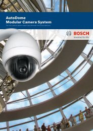 Commercial Brochure - Bosch worldwide