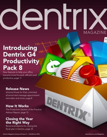 Fall/Winter 2010 - Dentrix