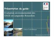 guide évaluation environnementale des SAGE en Languedoc ...
