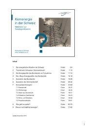 Kernenergie in der Schweiz - Nuklearforum Schweiz