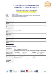 Anmeldeformular für Aussteller herunterladen - WFO ...