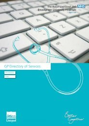 Directory of Services CAB 11.09.12.pdf - Royal Liverpool and ...