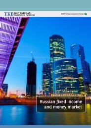 Russian fixed income and money market - BNP Paribas Investment ...