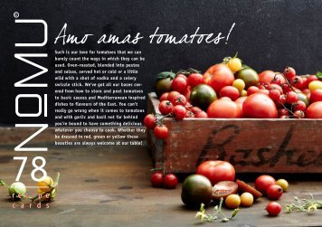 NoMU Recipe Cards Vol.78 Amo Amas Tomatoes , April [904 KB]